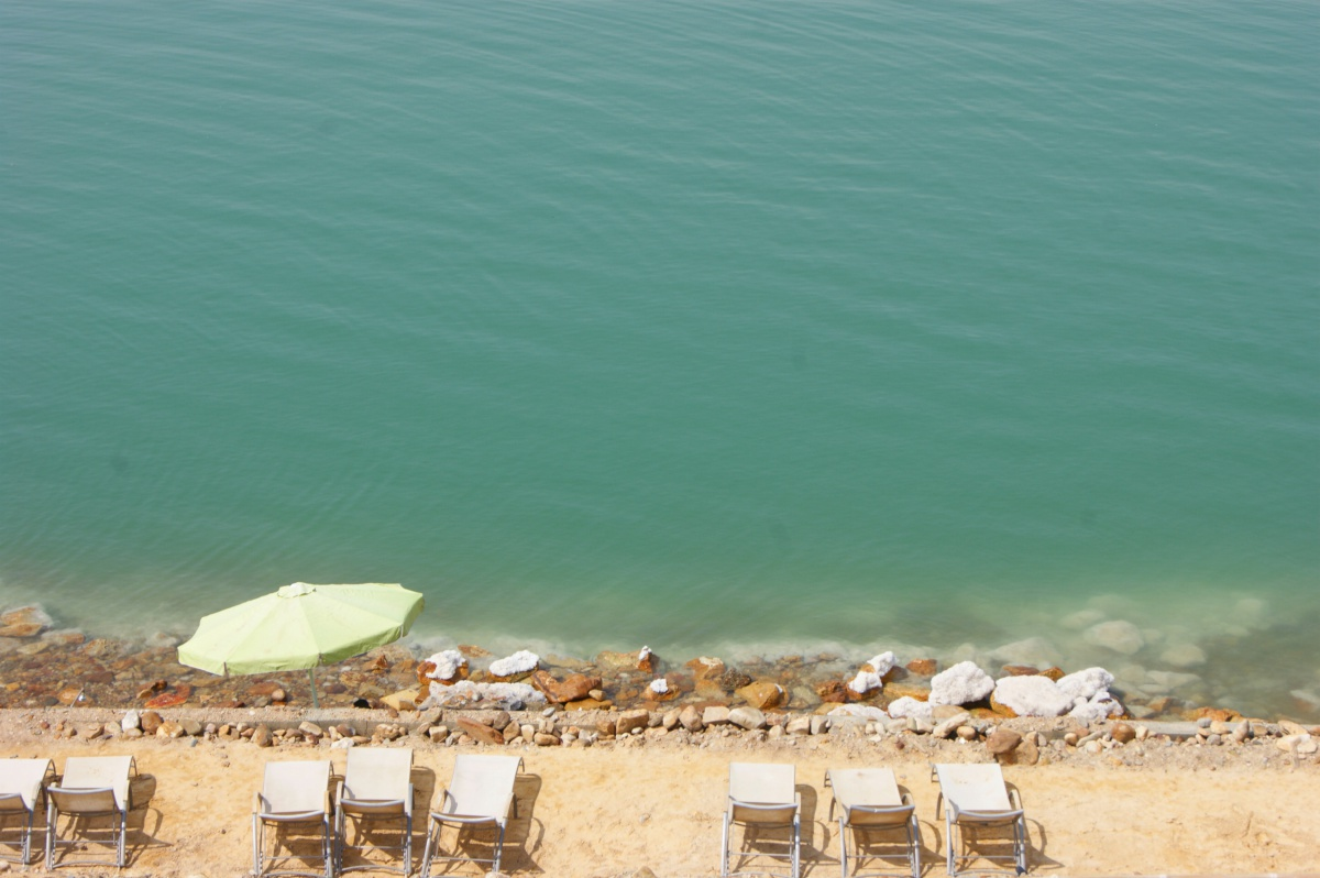 The most beautiful places in Jordan - Dead Sea - Oh Beach