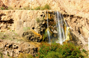 The moste beautiful places in Jordan - Hammam Ma'in hot springs